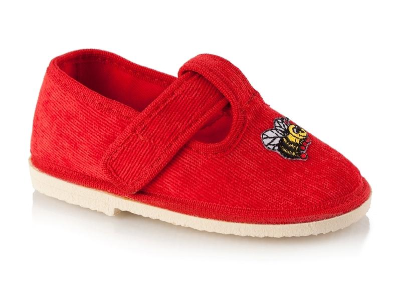 Туфли текстильные ясельные с аппликацией.  Модель: СЯ09ИХ Артикул